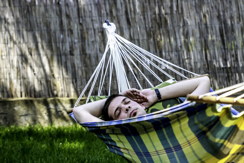 napping royaltyfri foto