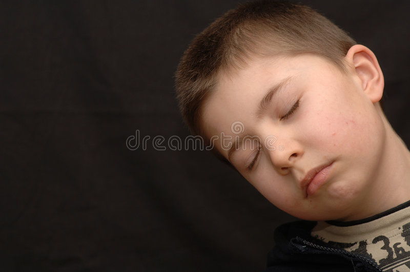 Download Napping Child. Stock Image - Image: 1975051