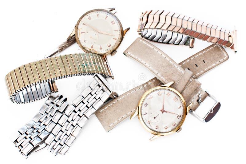 Naprawa zegarki zdjęcia stock