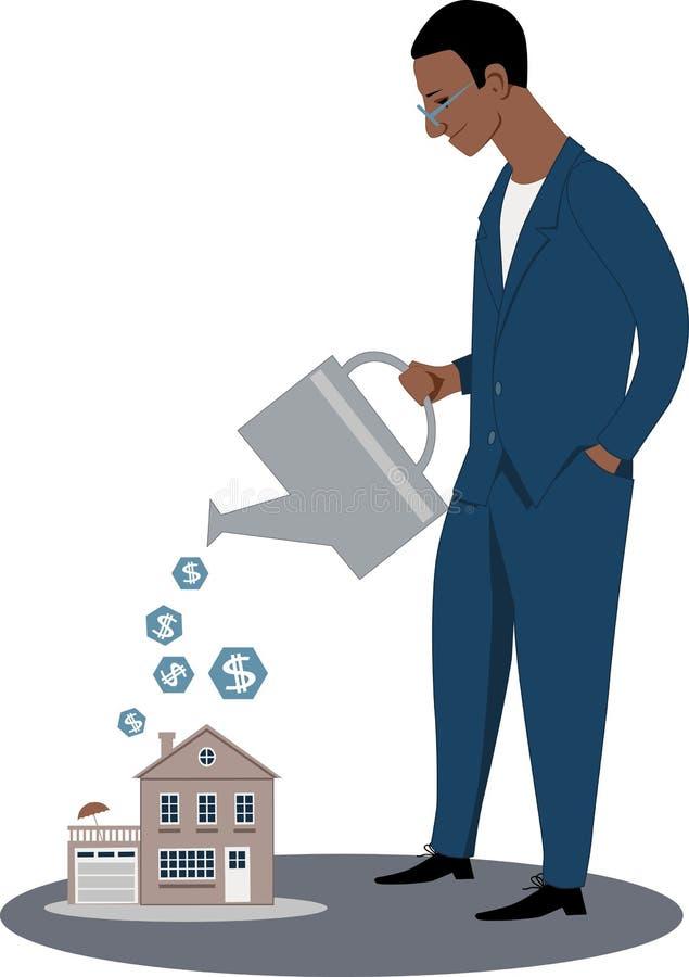 naprawdę inwestycji nieruchomości ilustracji
