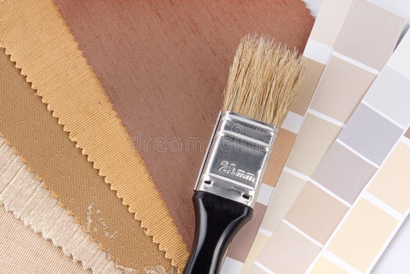 Download Naprawy I Dekoraci Planowanie Obraz Stock - Obraz złożonej z paintbrush, zasłona: 28963741