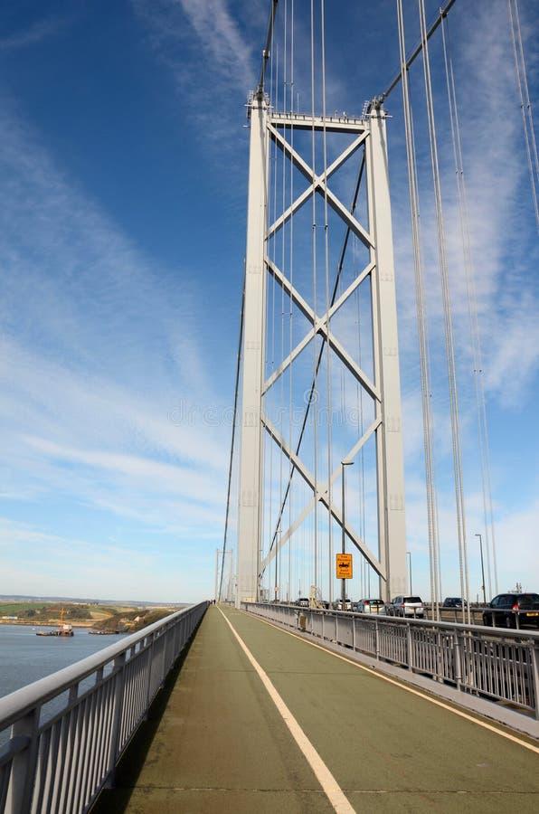 Naprzód droga most, Queensferry zdjęcia stock