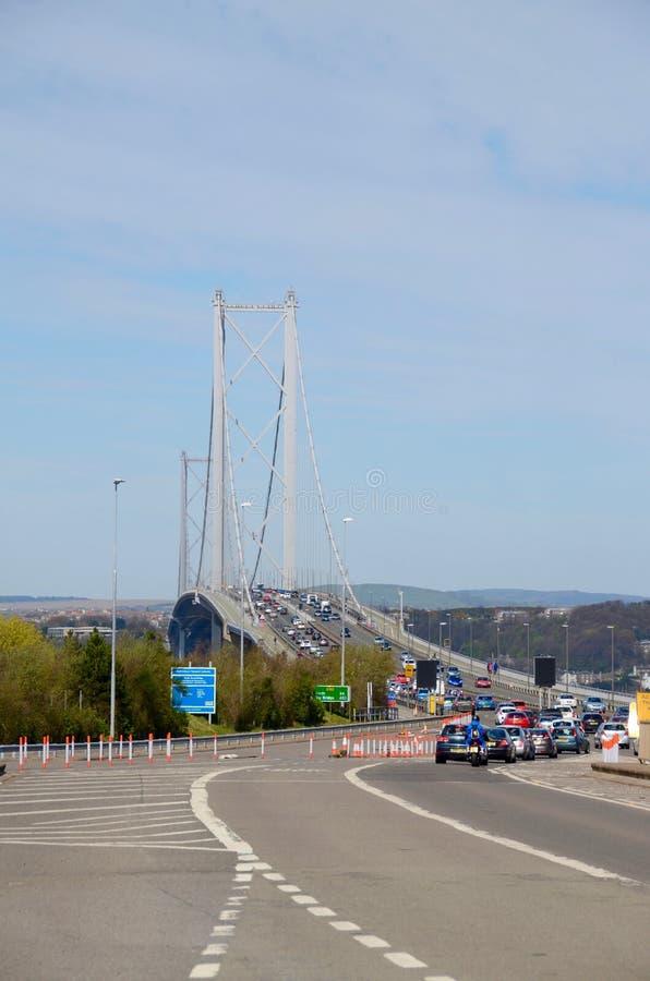 Naprzód droga most, Queensferry zdjęcie stock