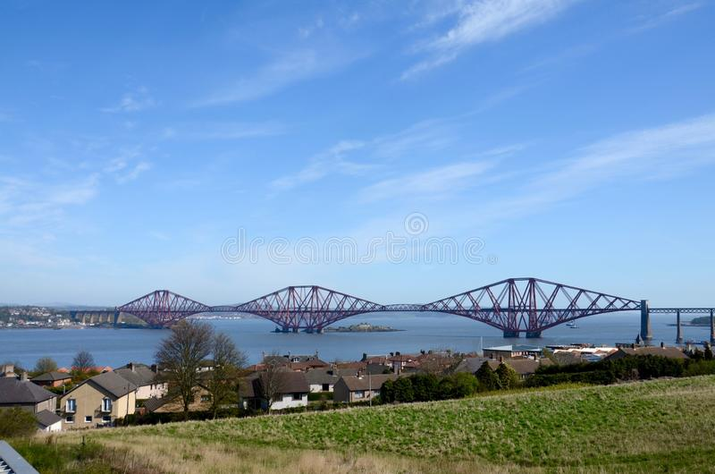 Naprzód most, Queensferry, Szkocja obraz stock