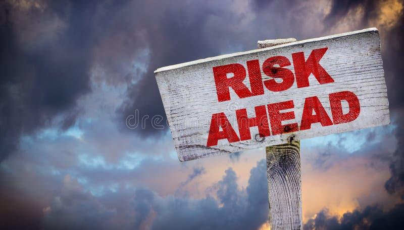 naprzód ryzyko fotografia stock