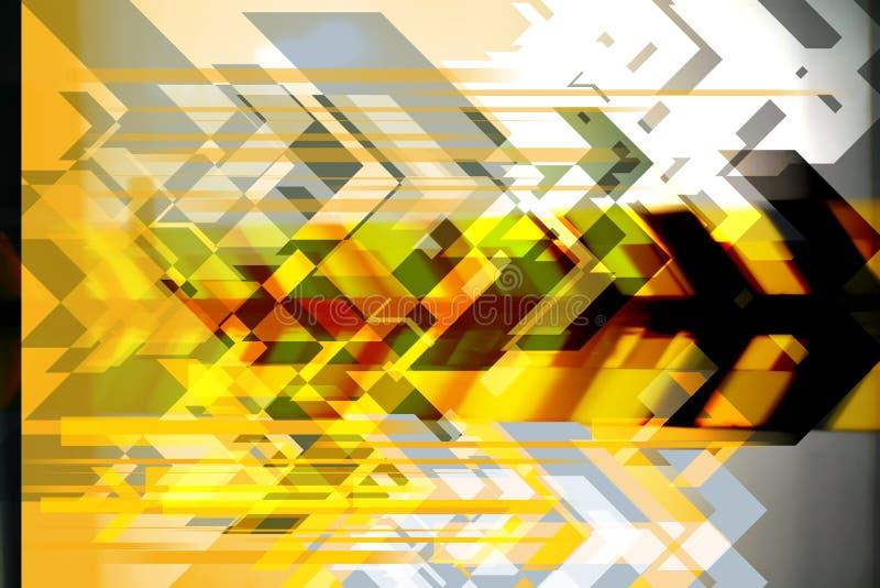 naprzód tła abstrakcyjne ilustracja wektor