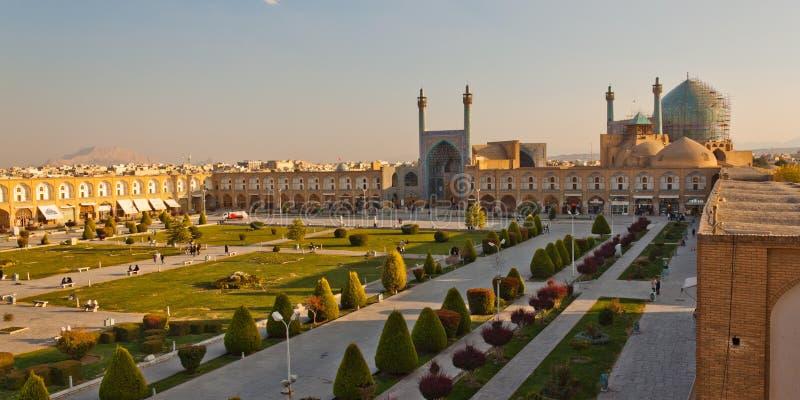 Naqsh-e Jahan fyrkant i Esfahan royaltyfria foton