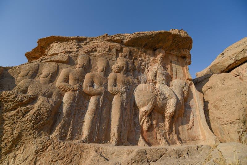 Naqsh-e Rajab cerca de Persepolis, Irán imagenes de archivo