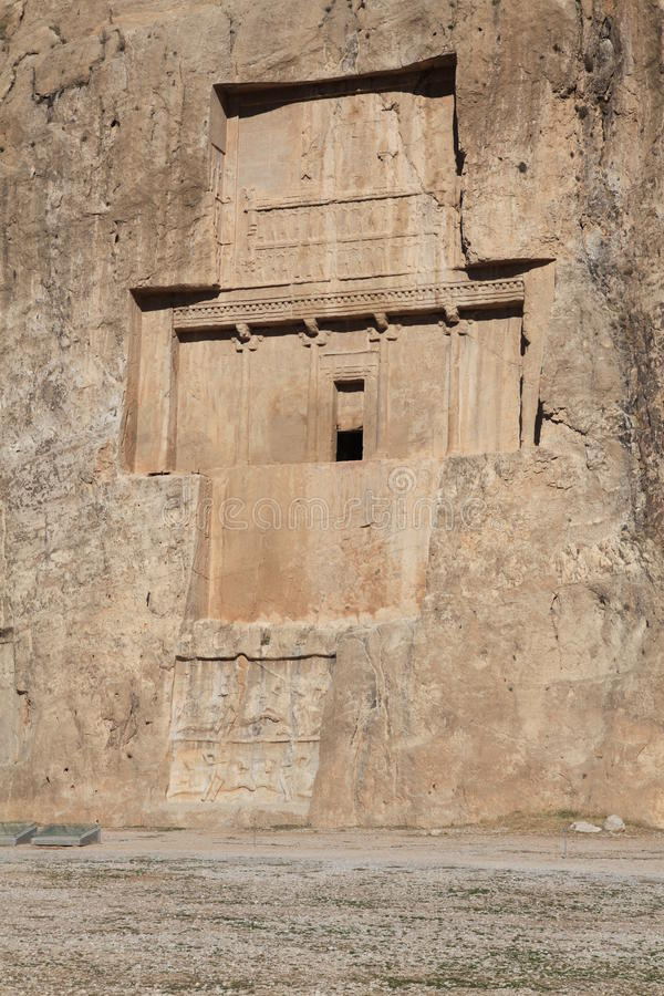 Free NAQSH-E ROSTAM - Grave Of King Daeiros And Xerxs Royalty Free Stock Photos - 18431828