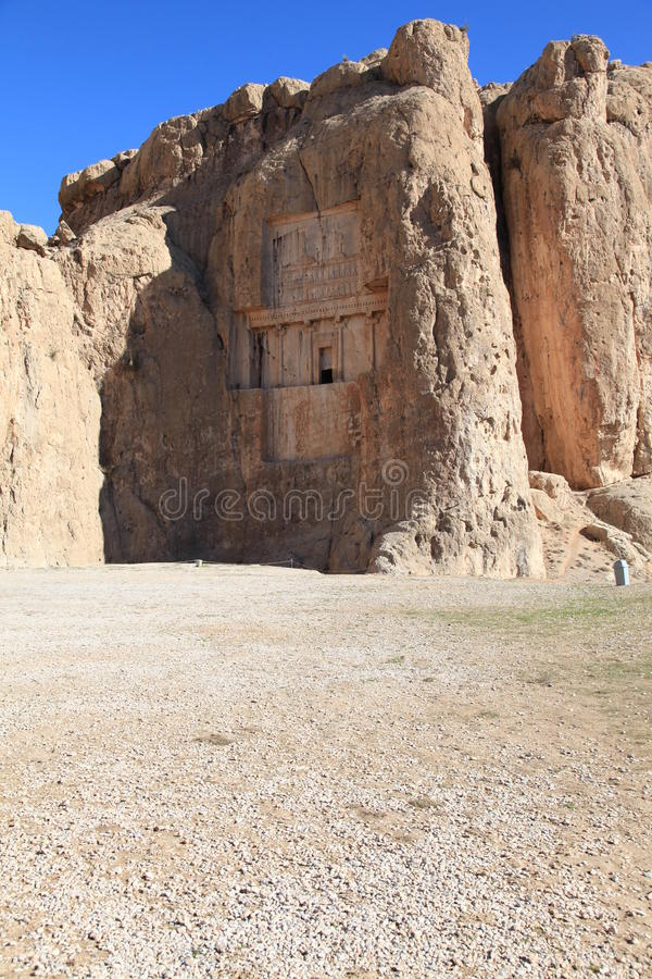 Free NAQSH-E ROSTAM - Grave Of King Daeiros And Xerxs Stock Photography - 18431952