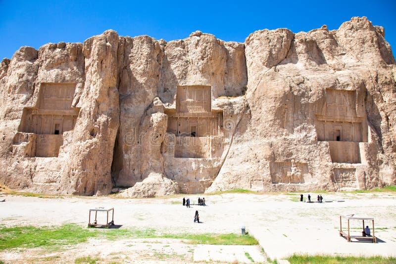 Naqsh-e Rostam, Iran arkivfoton