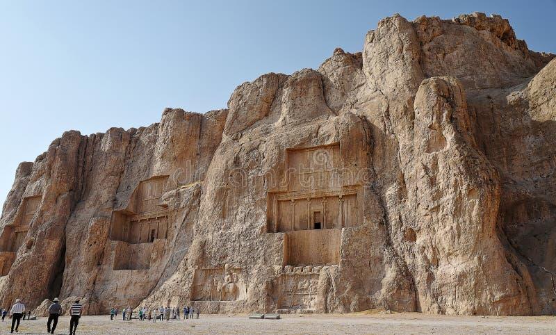 Naqsh-e Rustam, Iran royaltyfri bild