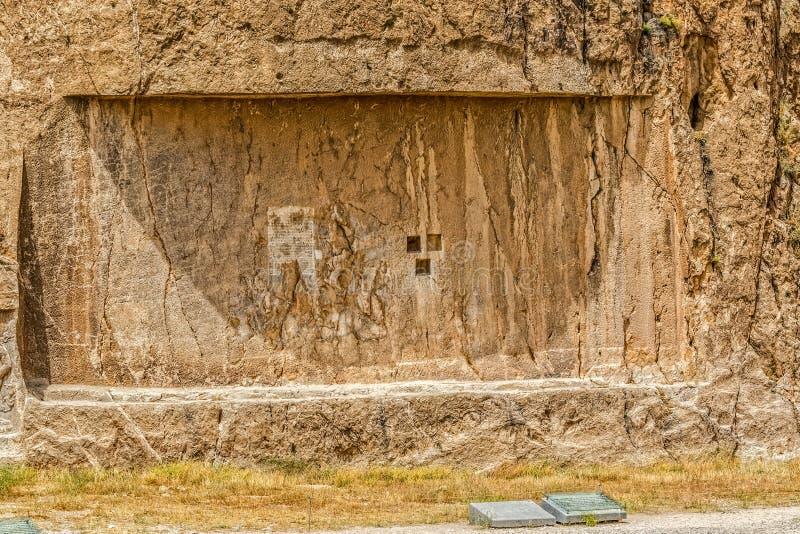 Naqsh-e Rustam lättnad royaltyfri bild