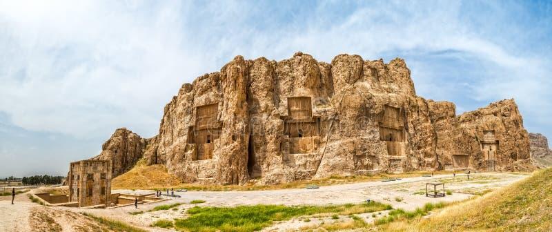 Naqsh-e Rustam Panorama fotografering för bildbyråer