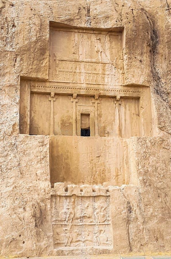 Naqsh-i Rustam, Persepolis, Shiraz, Iran. The Downhill House, Downhill Demesne and Hezlett House at Castlerock, Northern Ireland royalty free stock images
