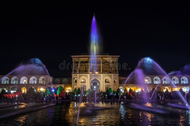 Naqshe Jahan Vierkant, als Meidan Emam, of Imam Square, in Isphahan, Iran ook wordt bekend dat Het is een belangrijke historische royalty-vrije stock afbeeldingen