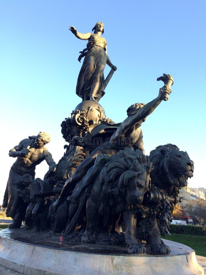 Naród statua obrazy stock