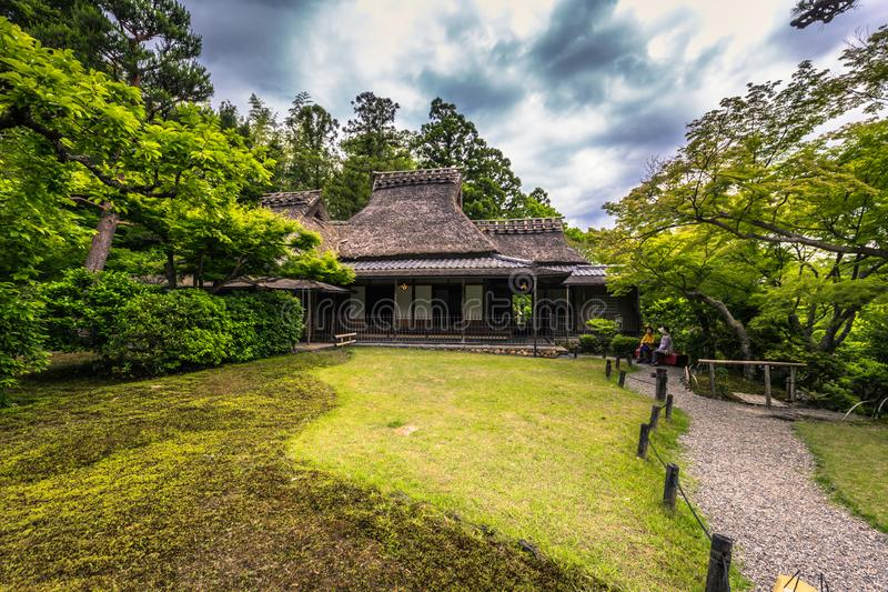 Nara - 31 Μαΐου 2019: Ο κήπος Isuien στη Νάρα της Ιαπωνίας στοκ φωτογραφίες με δικαίωμα ελεύθερης χρήσης