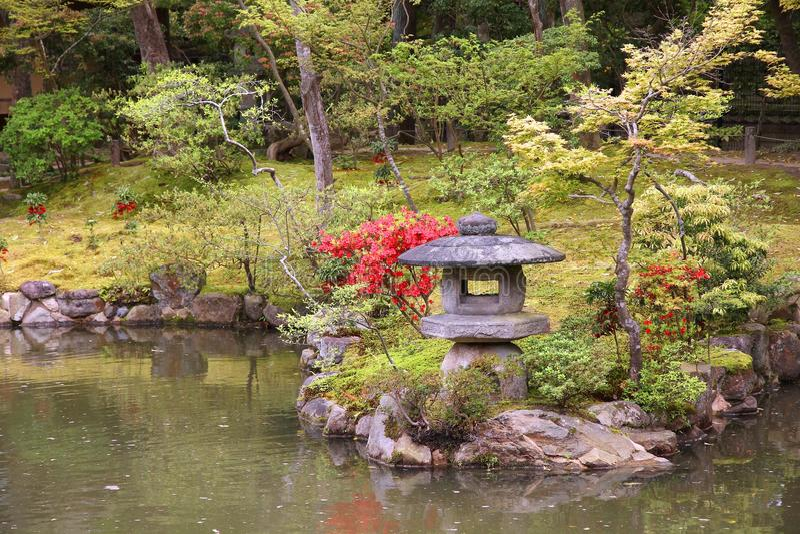 Nara Isuien Garden stock images