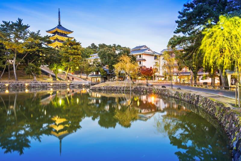 Nara, Japon image libre de droits