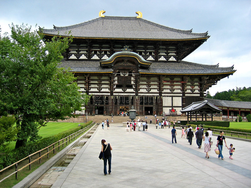 Download Nara Temple stock image. Image of building, classic, buddhism - 441451