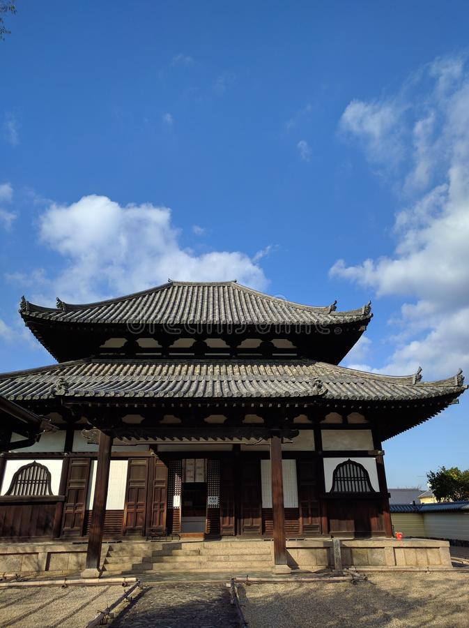 Nara Temple stockbild