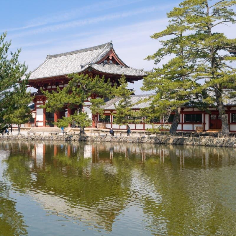 Nara Todaiji temple stock image