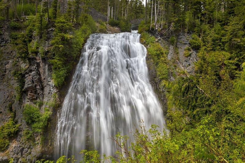Narada Spada w góra Dżdżystym parku narodowym w WA stanie zdjęcia royalty free