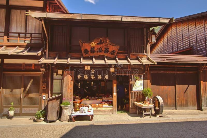 NARAI, JAPAN - JUNI 4, 2017 royalty-vrije stock afbeelding
