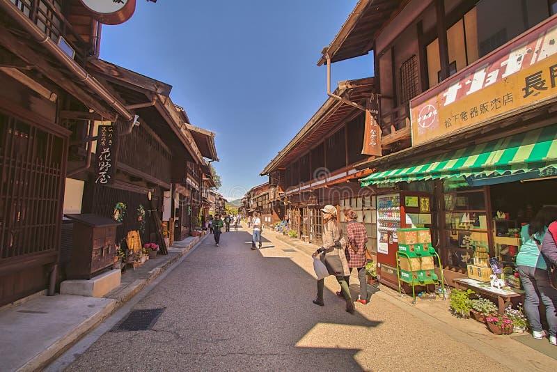 NARAI, JAPON - 4 JUIN 2017 photo stock