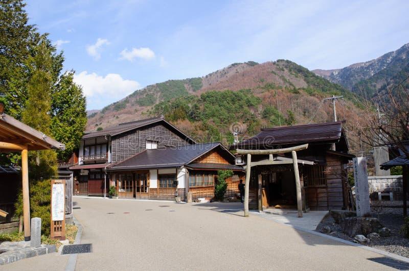 Narai-Juku royalty-vrije stock foto