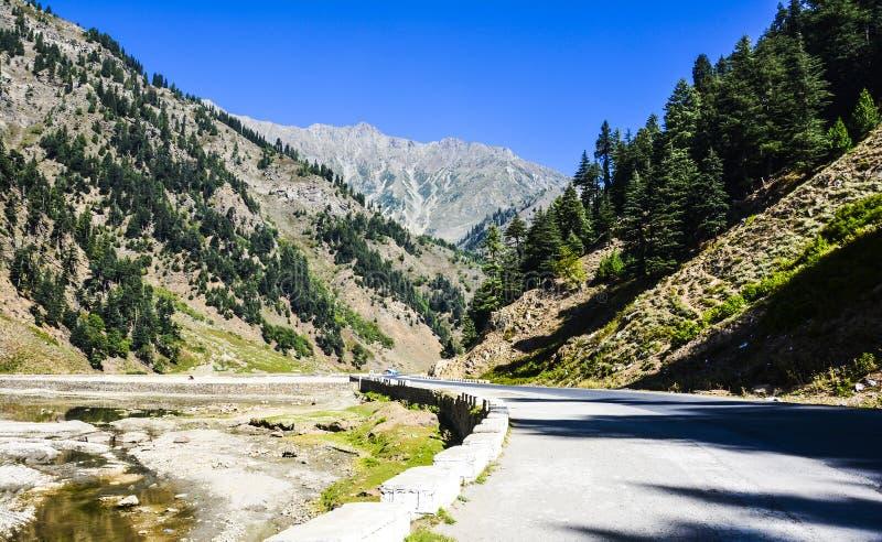 Naran Kaghan Valley, Pakistan stockbilder