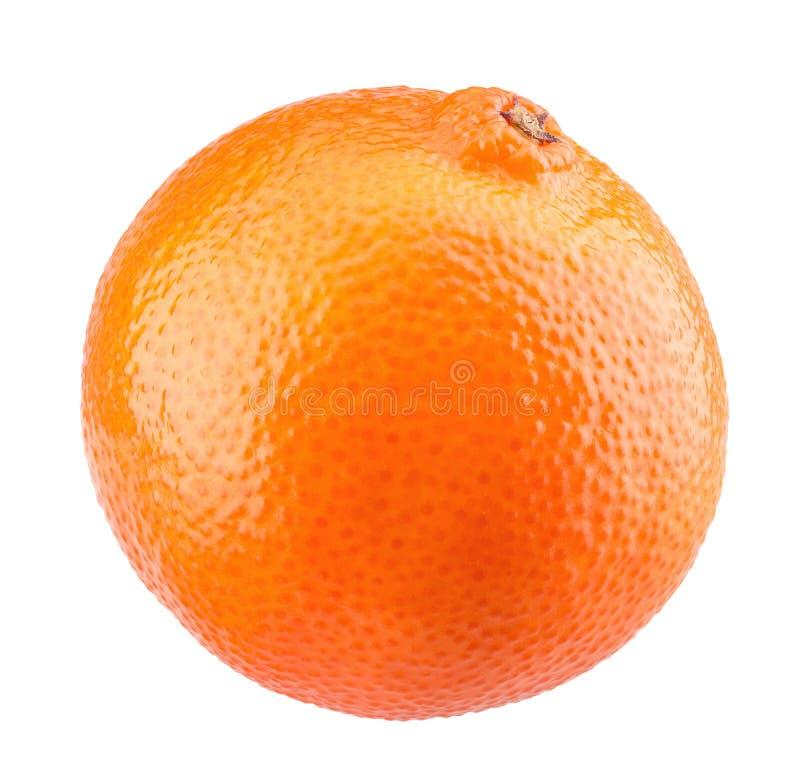 Naranja aislada en un fondo blanco fotografía de archivo libre de regalías
