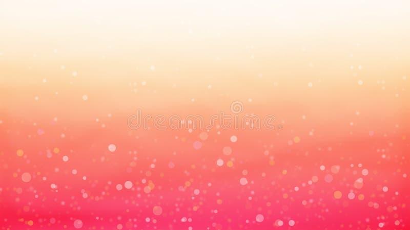 Naranja con la textura fresca amarilla hecha por textura de las burbujas y capa adicional con color anaranjado libre illustration