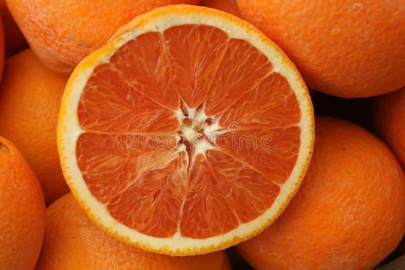 Naranja de Cara Cara, sinensis 'Cara Cara' de la fruta cítrica fotos de archivo