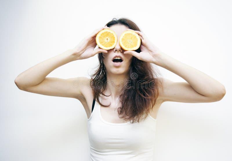 Naranja de la belleza imagenes de archivo