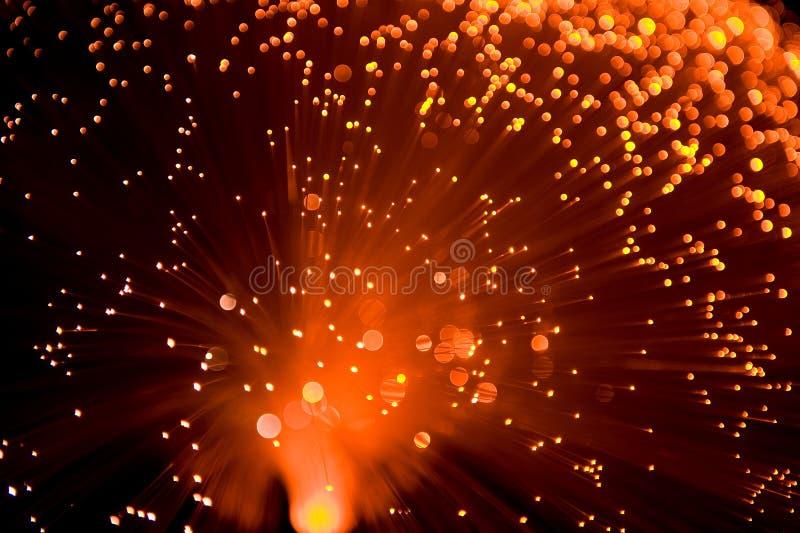 Naranja de la lámpara de la base fotos de archivo libres de regalías