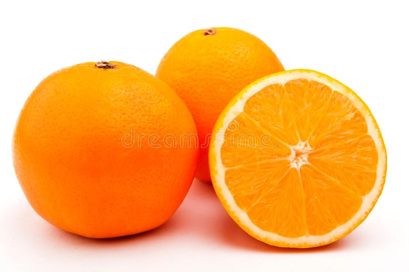Naranja dulce Primer anaranjado del  de Ñ Naranja hermosa imagen de archivo
