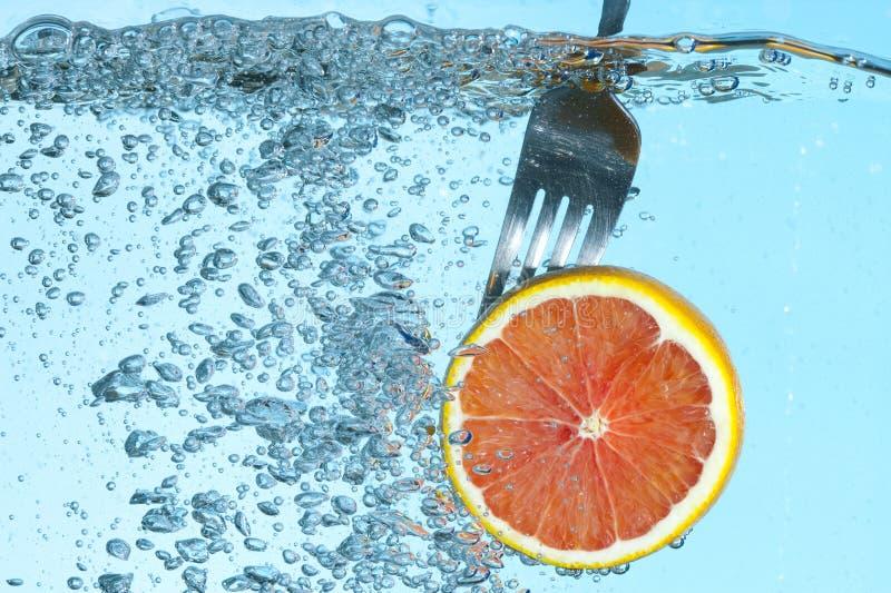 Naranja Fresca Foto de archivo libre de regalías