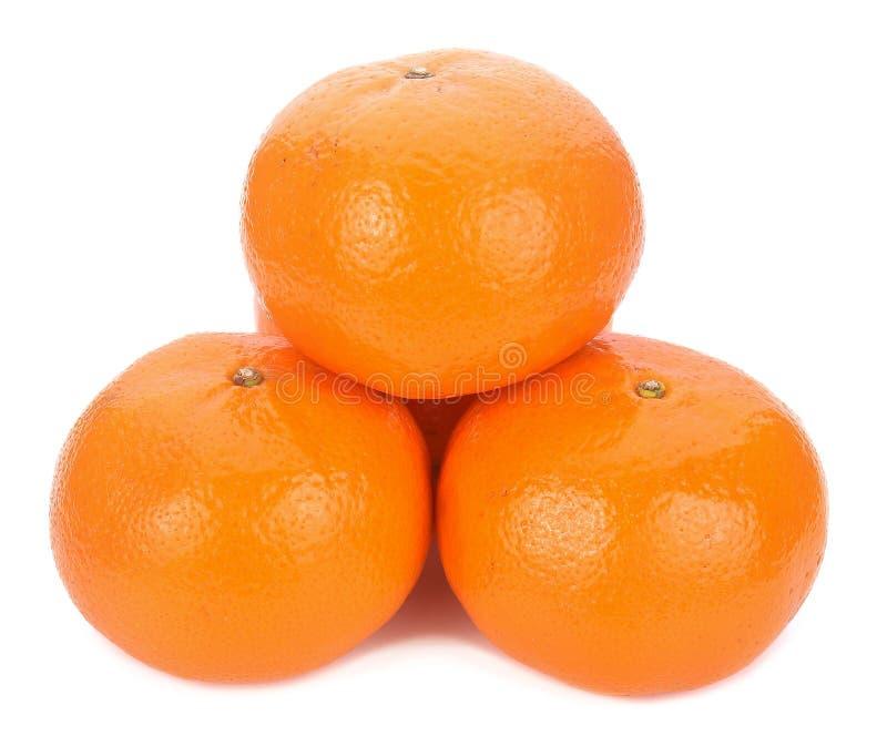 Naranja madura aislada en el fondo blanco fotografía de archivo