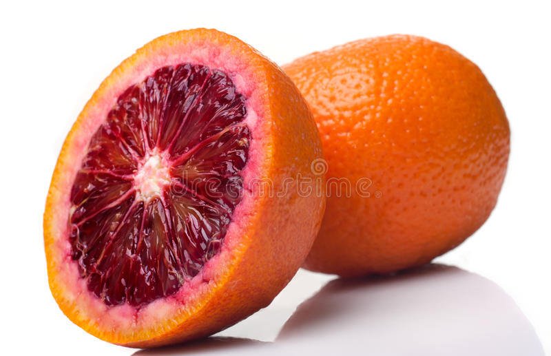Naranja Sangrienta Fotos de archivo