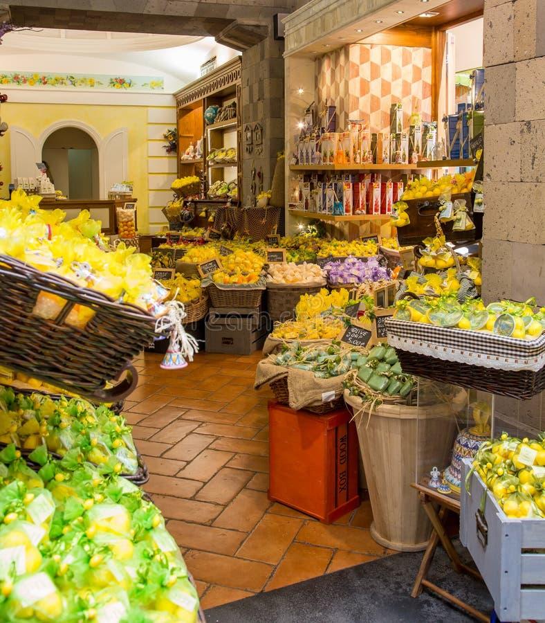 Naranja y Olive Soaps del limón fotografía de archivo