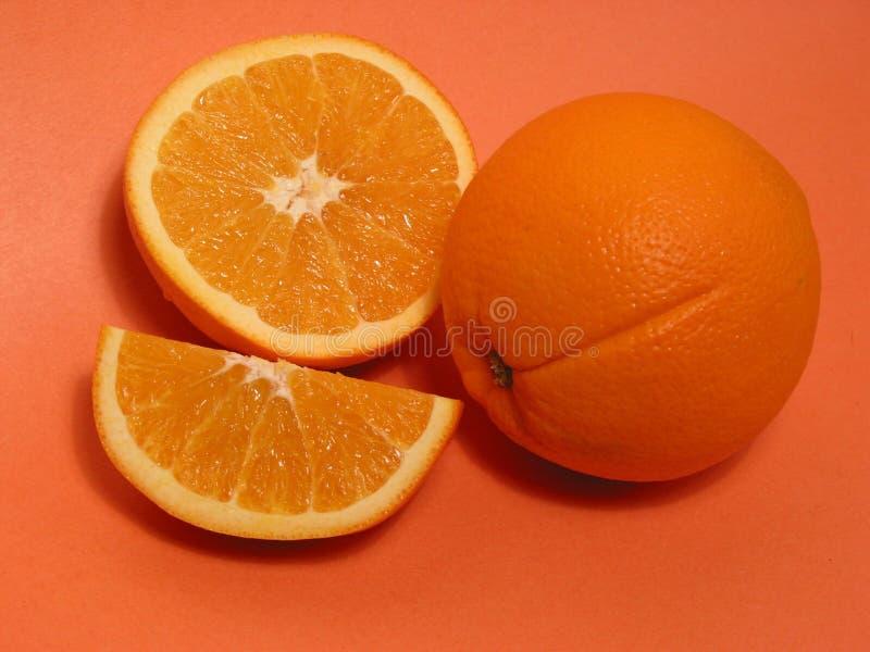 Naranjas anaranjadas 1. fotografía de archivo libre de regalías