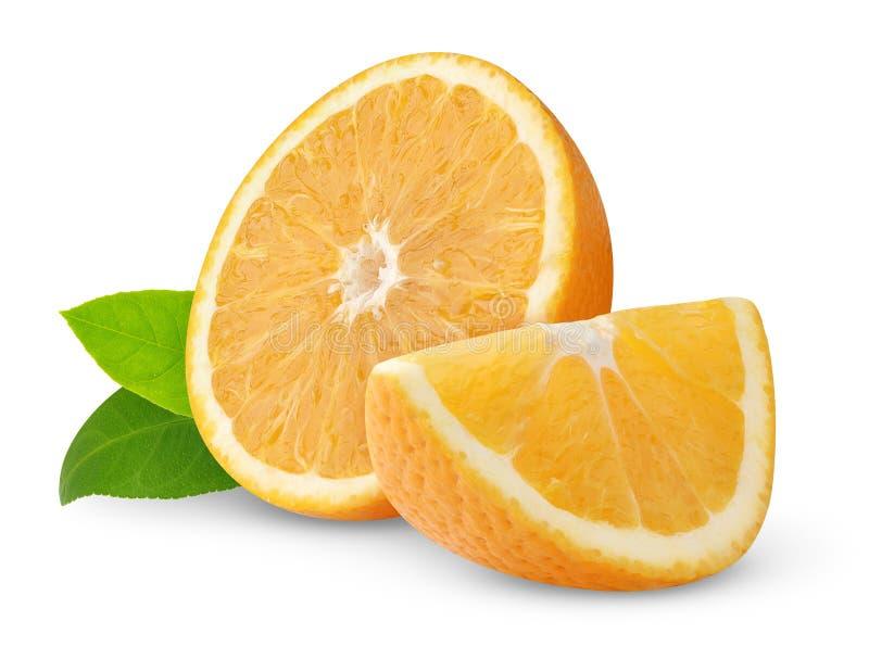 Naranjas hermosas foto de archivo libre de regalías