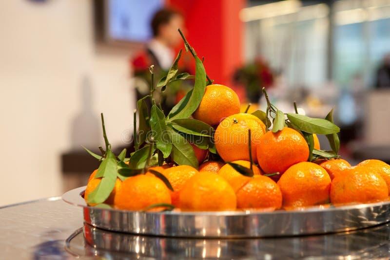 Naranjas jugosas foto de archivo libre de regalías