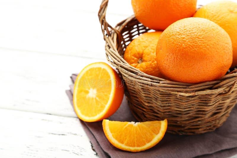 Naranjas maduras fotos de archivo