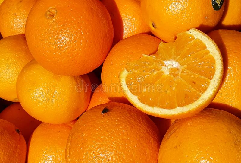 Naranjas navel imagen de archivo