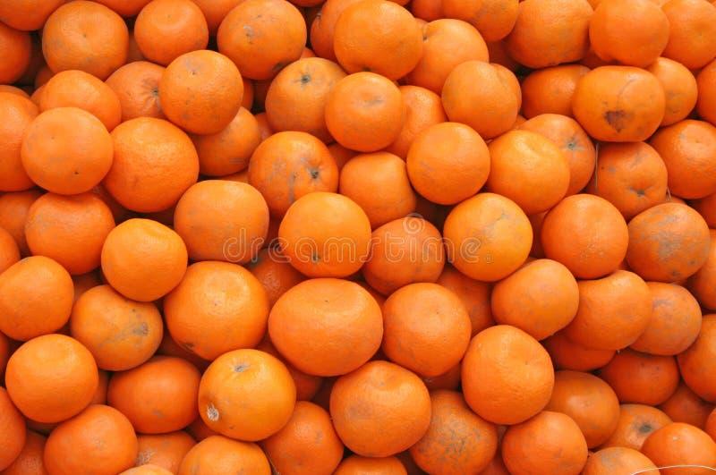 Naranjas recientemente escogidas la India fotografía de archivo libre de regalías
