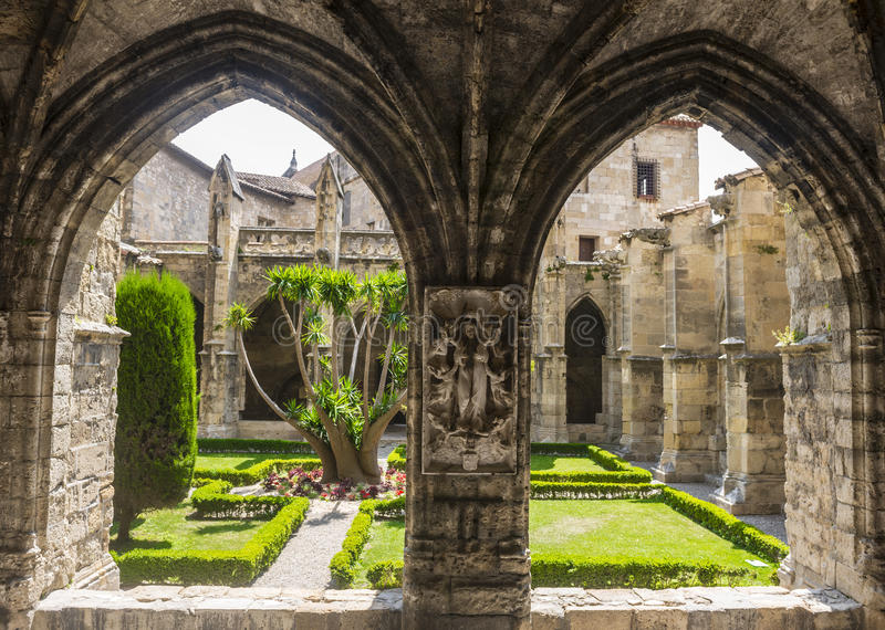 narbonne cathedral cloister stock photo image of cloister church 36659018. Black Bedroom Furniture Sets. Home Design Ideas
