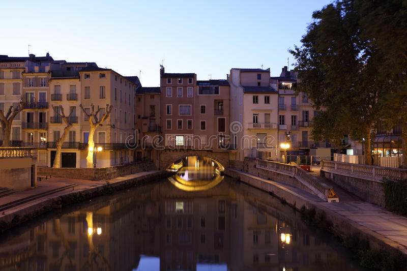 Narbonne, Frankreich stockfotografie